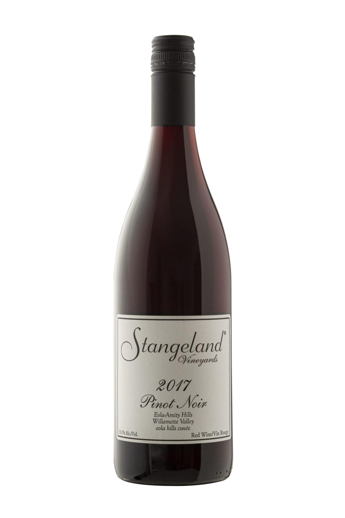 Strangeland Vinyards wine bottle.