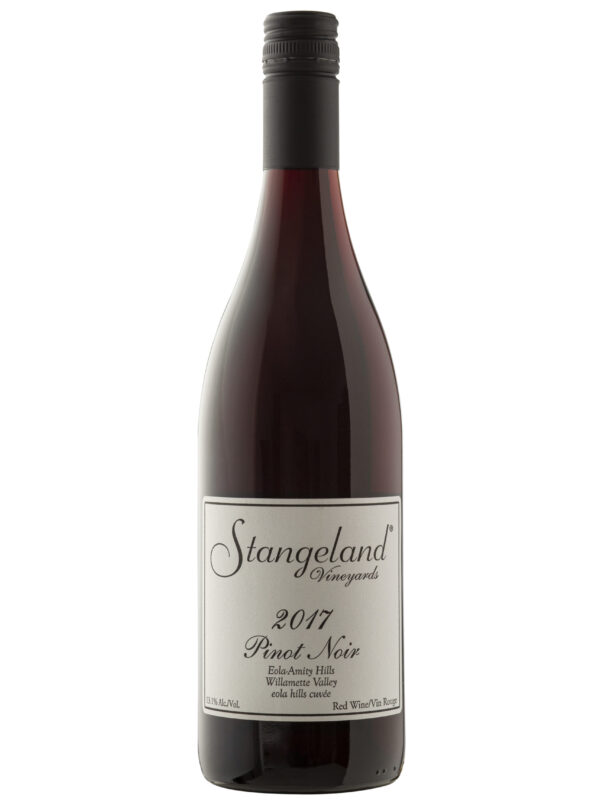 Strangeland Vinyards wine bottle.