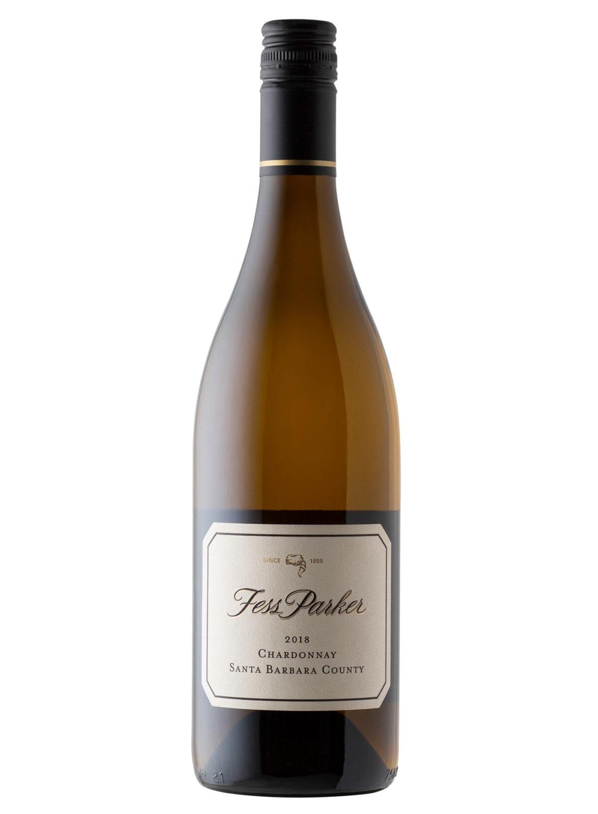 Fess Parker Wine Bottle.