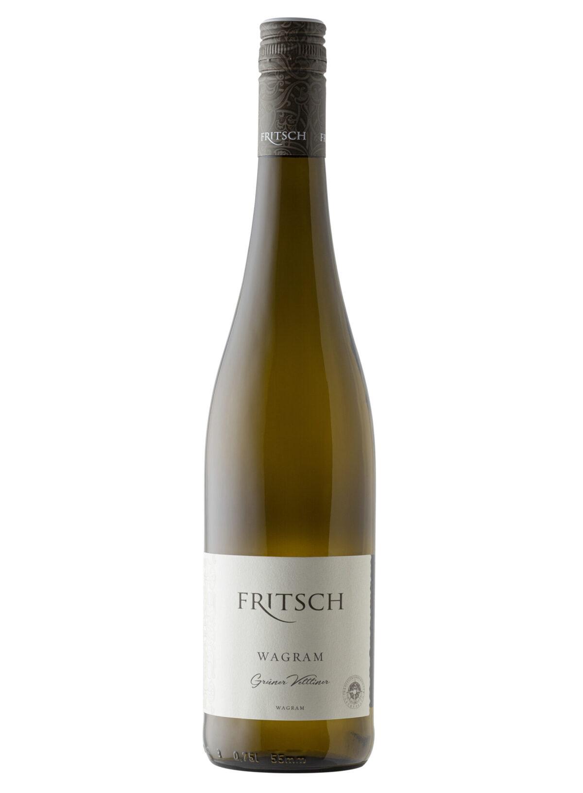 Fritsch Gruner Veltliner Wine bottle..