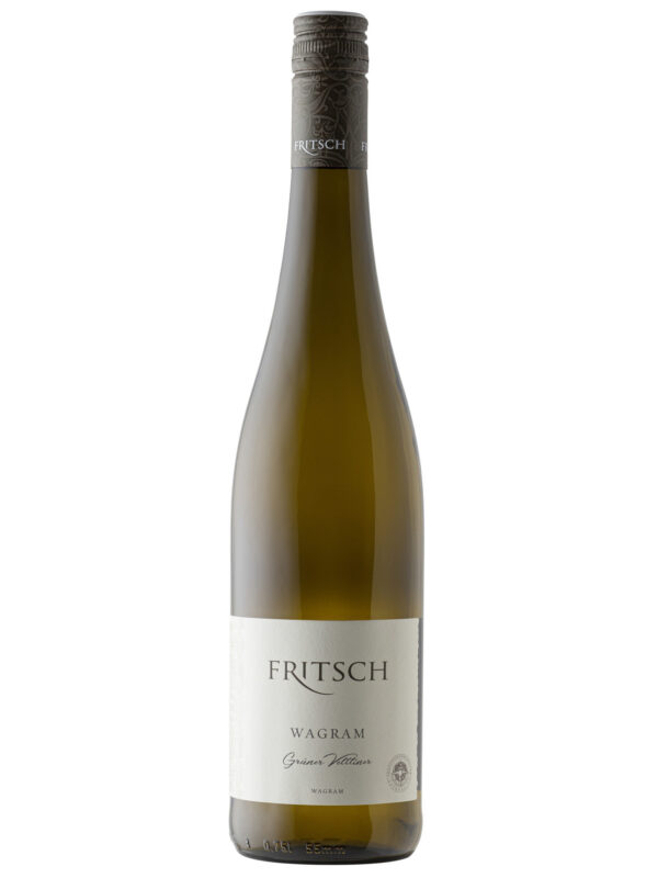 Fritsch Gruner Veltliner Wine bottle..