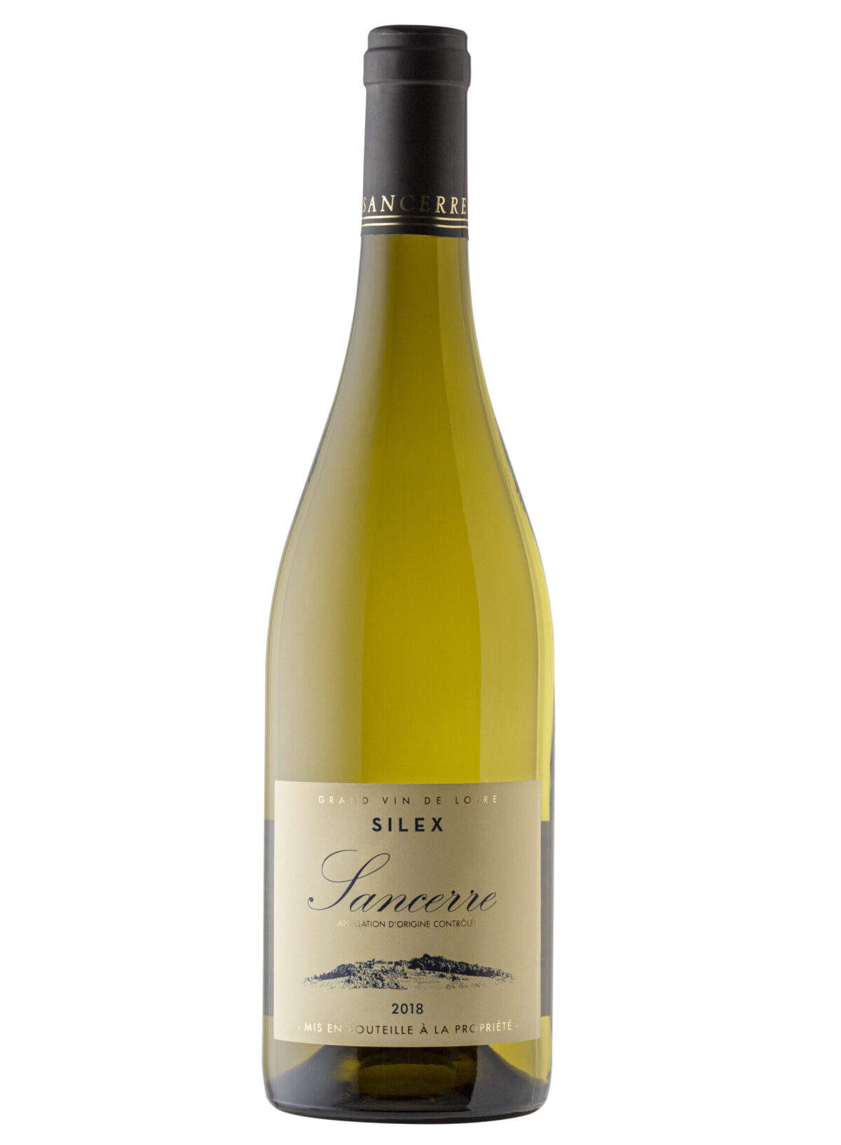 Gerard Maudry Sancerre Silex eurpoean wine bottle.