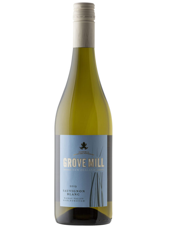 Grove Mill Wine bottle.