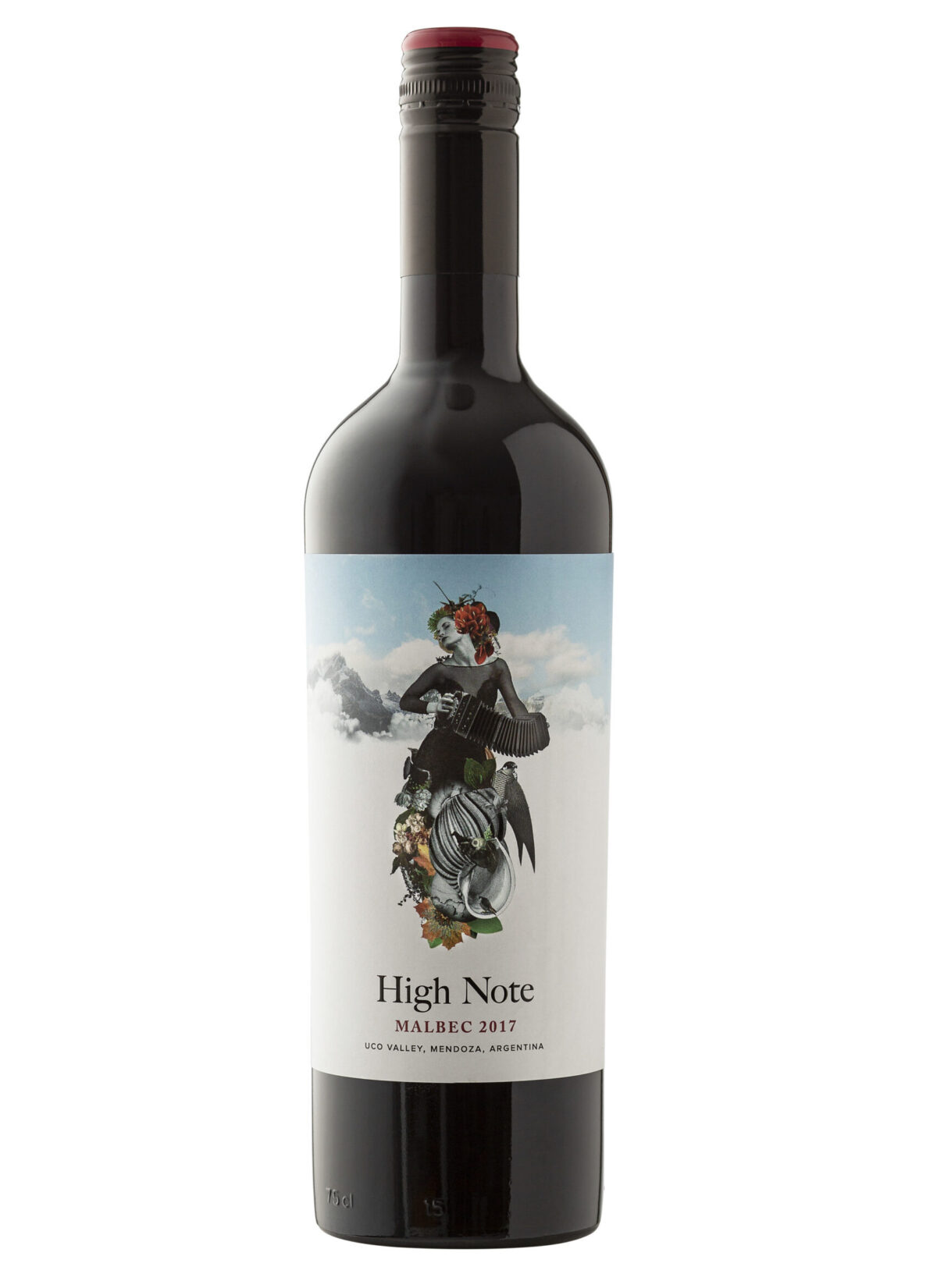 High Note Malbec Wine Bottle.