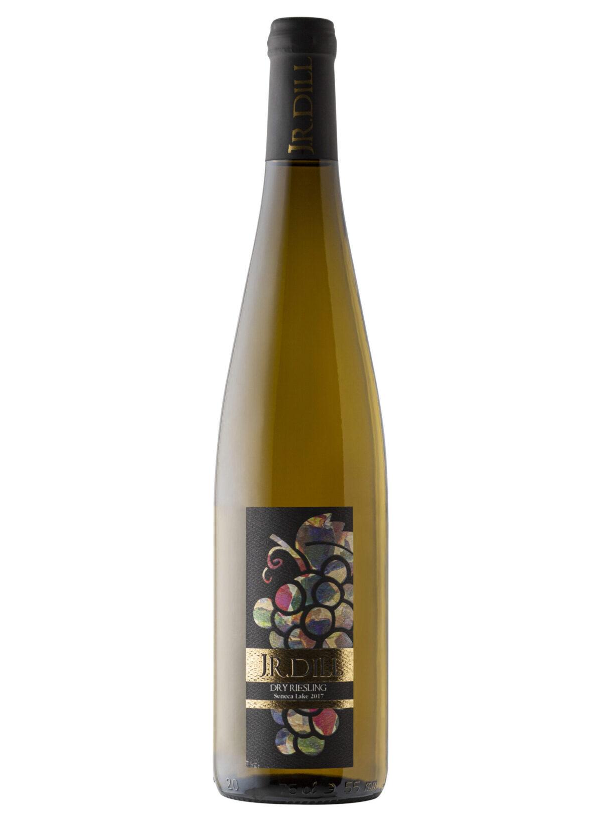 Jr Dill Windery Wine bottle.