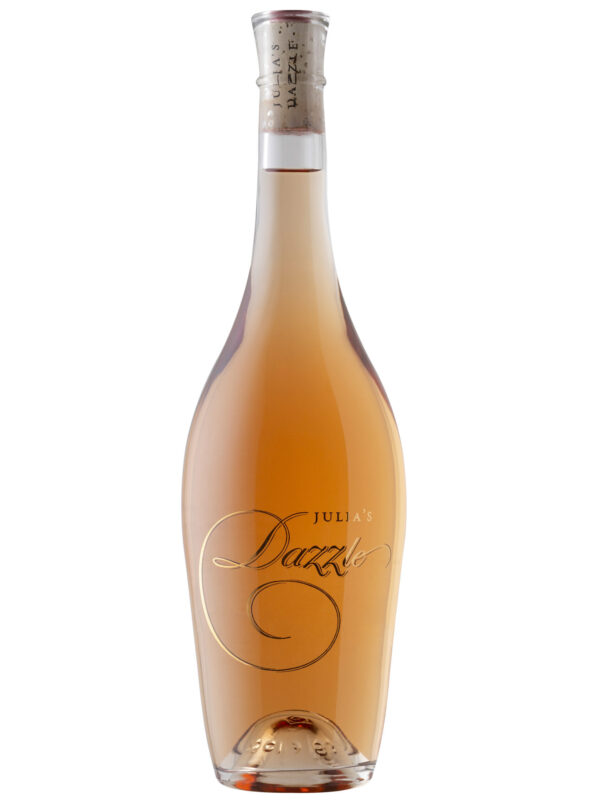 Julia's Dazzle Wine Bottle.