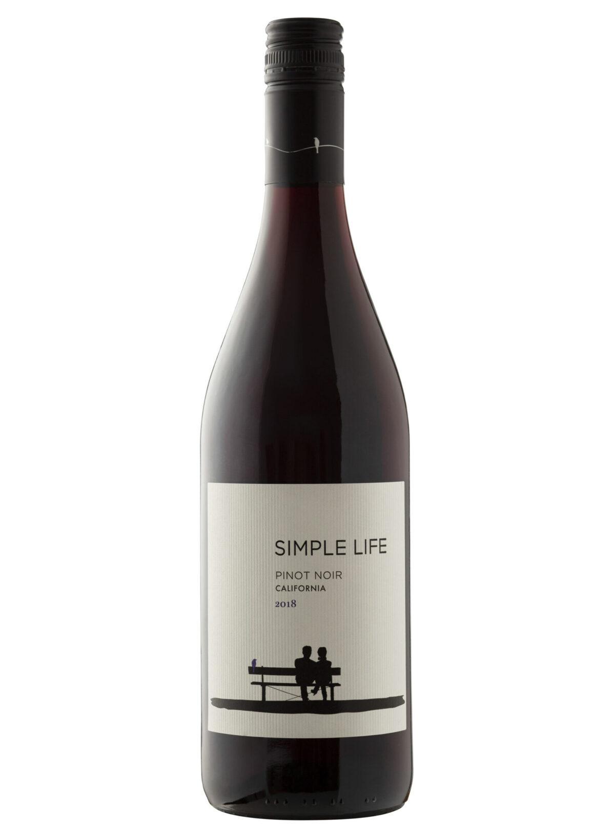 Sivas Sonoma Simple life Wine Bottle.