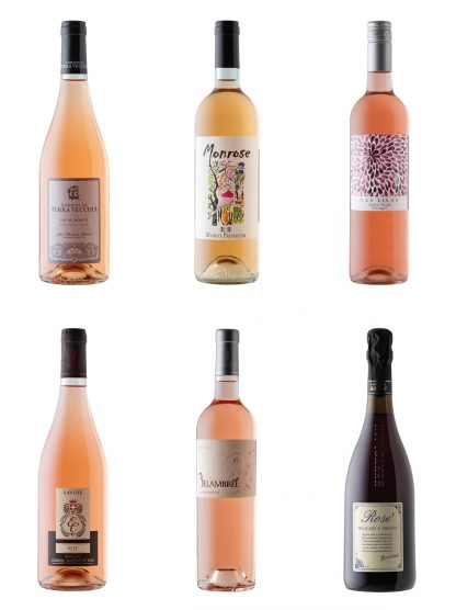 Rose Wine Collection.