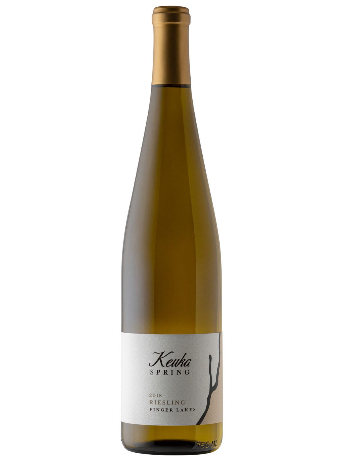 Keuka Springs wine bottle.